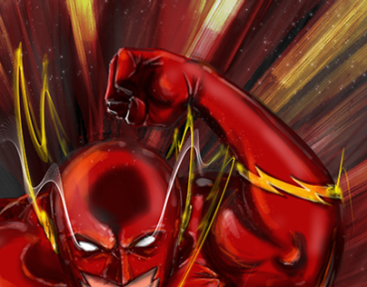 The Flash - Krita Digital Painting Test