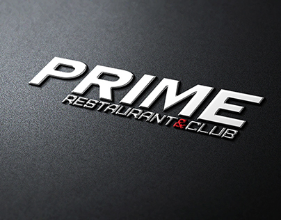 PRIME club&restaurant logotype