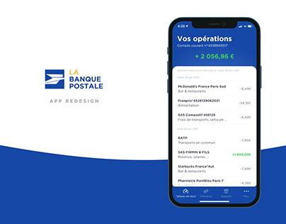 La Banque Postale - App Redesign