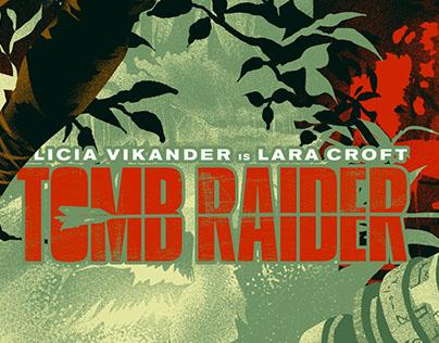 TOMB RAIDER Alternative poster Winning Piece