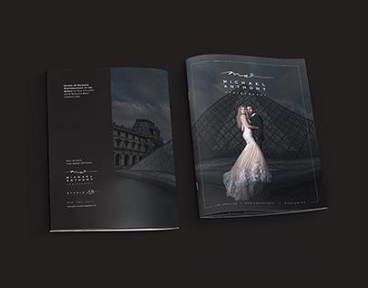 Michael Anthony Photography Wedding Brochure
