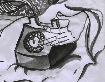Medium : Ink