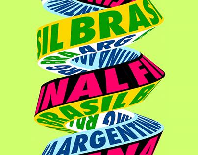 BRASIL - ARGENTINA Final Copa America