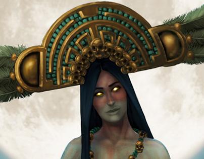 Diseño de Personajes/ Dioses Mexicas