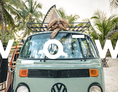 Visual identity & content | VOW: Boutique on-wheels