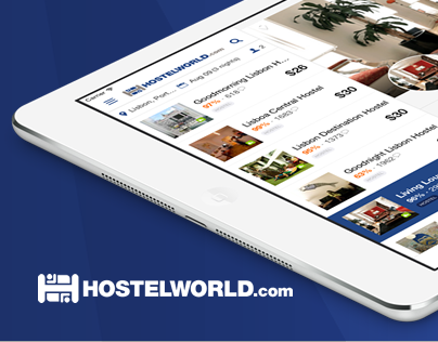Hostelworld iPad App