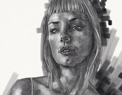 Girl portrait. Zöe.