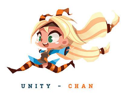 Unity-Chan T-Shirt Design - Comiket 86 - Tokyo
