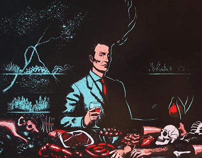 A Nice Chianti | Hannibal Screenprint