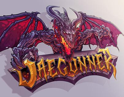 Daegonner Logo - Minecraft Server Logo