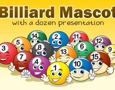 Billiard maskot (FREE)