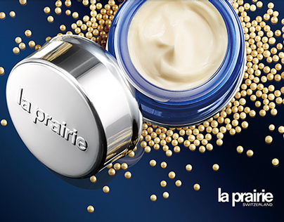 la prairie Skin Caviar Eye Campaign 2014
