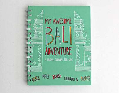 MY AWESOME BALI ADVENTURE — kid's activity book