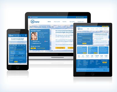 Skyrepay - webdesign