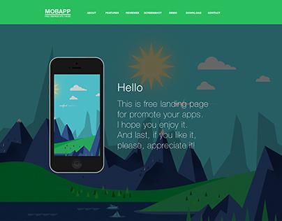 MOBAPP Free Landing Page