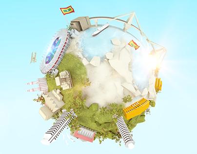 REDEA logo Animation