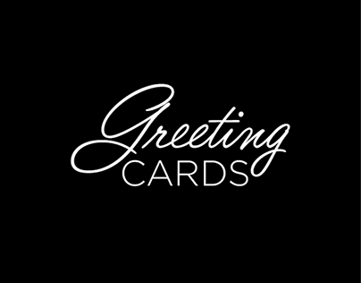 Lettering // Greeting Cards
