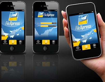 File Xpress Logo and App Design
