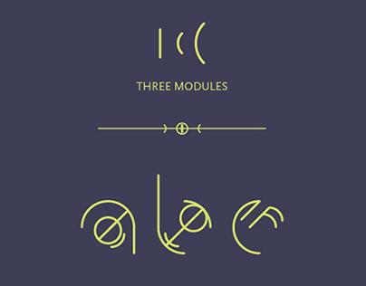 Oculta Font | Experimental Typography