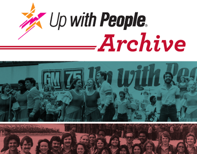 Up with People Archive Brochure
