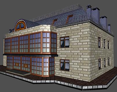 Low Poly Toon Buildings