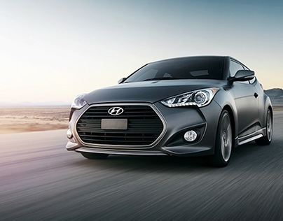 Show Booth // Hyundai Veloster