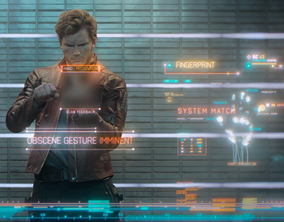 Guardians of the Galaxy - Screen Graphics