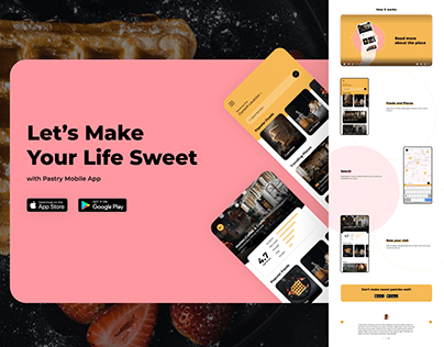 Pastry Mobile App