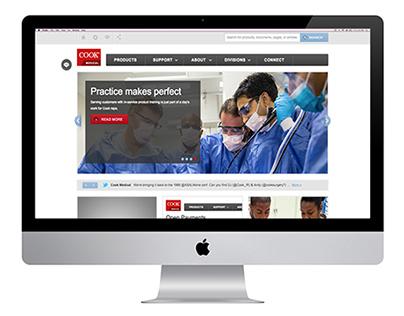 Cook Medical Website