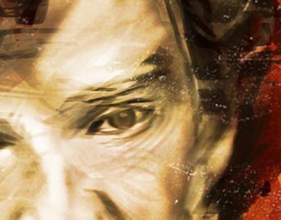 Sherlock // Speed Painting Test // Malvika Asher