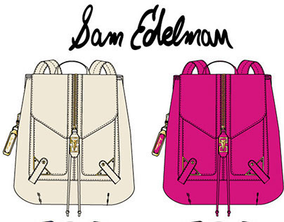 Handbag Design for Sam Edelman Brand-Leather