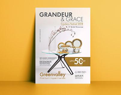 Crockery Sale Flyer for Greenvalley