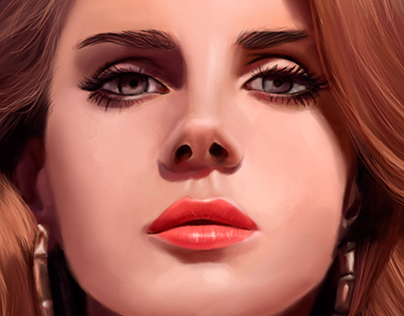 Lana Del Rey - Digital Painting