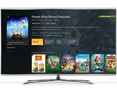 Amazon Fire TV - Movie Detail Page