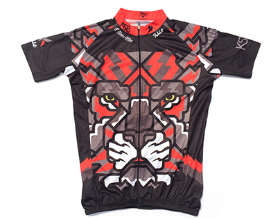 KSIAM Cycling Jersey Designed by Rukkit Kuanhawate