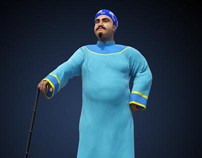 Cartoon Character 2