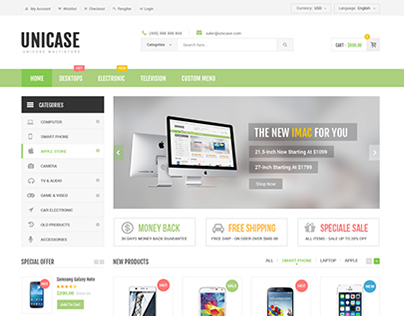 Unicase - Ecommerce template!