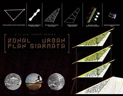 Urban Planing - Giarmata - 4'th year project