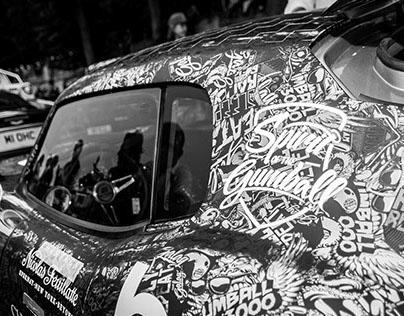 Paris - Gumball 3000 '14 Cars Photographs