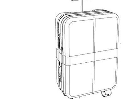 EXTEND- suitecase, travel bag, troley
