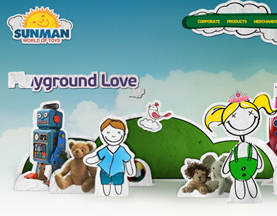 Sunman World of Toys - Corporate Web Site