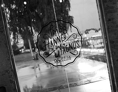 Hanne + Magnus - Event Identity