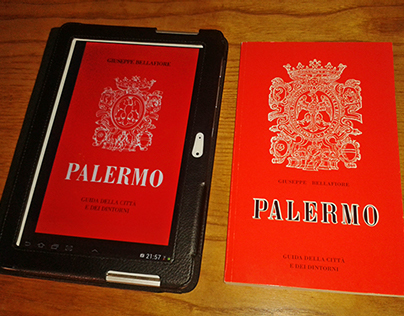 Restyling of the old Bellafiore's red Palermo guide