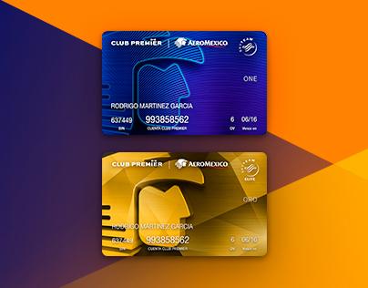Tarjetas Club Premier Aeroméxico