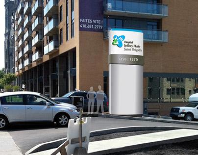 Hôpital Jeffery Hale-Saint Brigid's / Outdoor Sign