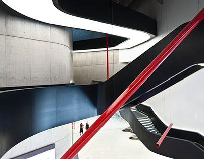 MAXXI Museum, Rome Italy -  Zaha Hadid Architect