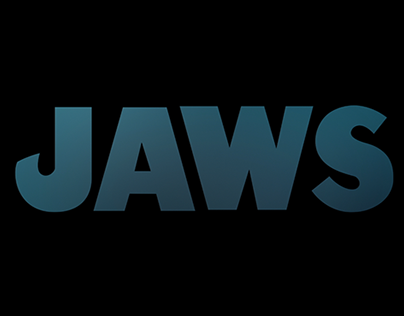 JAWS title sequence