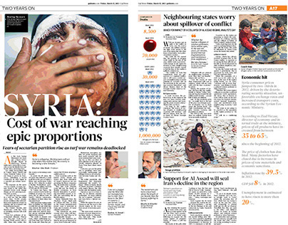 Syria two years on war