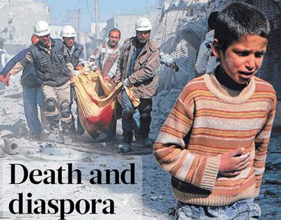 Syria, third year of war