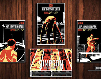 Simpson College: Kip Janvrin Open Track Posters